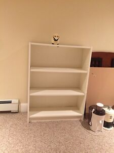 White Book Shelf (Toy sheep not included)