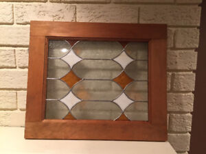 Stained glass pannel