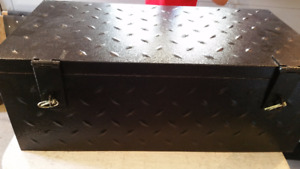 Black Checker plate Tool Boxes