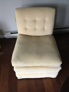 Retro, vintage, modernist chair