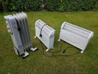 Portable radiators heaters shed garage greenhouse