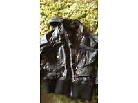 River Island Leather Jacket size 12