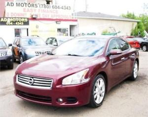 """ONE OWNER LEASE NO ACCIDENT""  2012 NISSAN MAXIMA SV SPORT SEDAN"