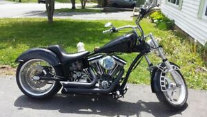 LIKE NEW CUSTOM BUILT HARLEY!For sale Or Trade!!!!!