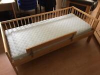Child's Bed with or without mattress
