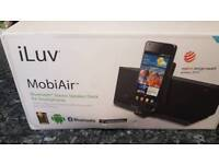 Brand new in box.bluetooth stereo docking station android
