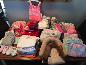 Girls lot of clothes 3-9 months