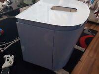 EX DISPLAYIDEAL STANDARD 1 Tap Hole Glass Bathroom Vanity/Sink Worktop Countertop RRP £195 for DEA