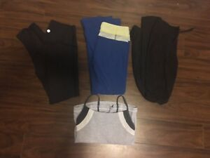 NAME BRAND CLOTHES (Lululemon, pink, roots)