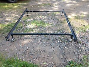 Adjustable Metal Bed Frame, Up To A Double
