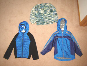 Boys Jackets, Clothes, Dressy Items - sizes 6, 7, 8 / Footwear
