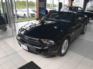 2012 Ford Mustang V6 Premium Convertible! 6-Speed Manual! Low km