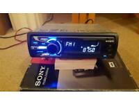 Sony mp3/ipod car player