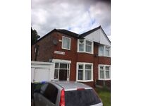 Fantastic 4 Bedrooms Semi House to Rent - Cheetham Hill Manchester M8
