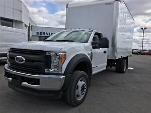 2017 Ford F-550 Regular Cab DRW 2WD