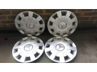 "Genuine Mercedes Sprinter Wheel Trims 16"" Set of 4"