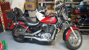 1100cc honda shadow ace