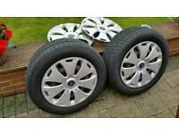 Steel 16 inch wheels 4 off