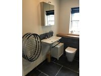 White Bathroom Suite in excellent condition