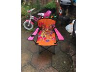 Kids character chair