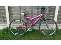 "Ladies 26"" wheel mountain bike"
