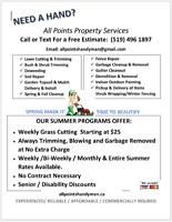 Grass Cutting, Lawn Maintenance, Lawn