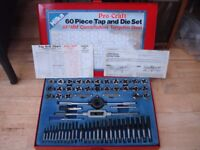 HILKA 60PCS TAP & DIE SET { TUNGSTEN -BOXED} QUALITY.