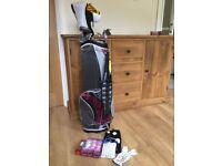 Ladies beginners golf set