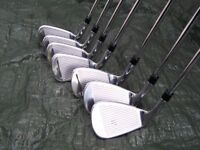 Taylor Made RSI 1 irons set (7 clubs : 4 – PW) - virtually new