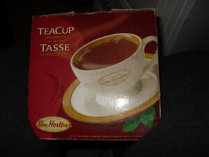 FOR SALE TIM HORTONS TEACUP AND SAUCER