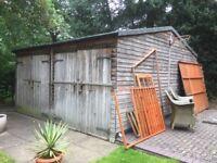 20x20 garage/shed