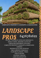 concrete / landscape pros ! One call away. FREE QUOTE
