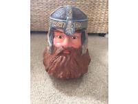 Gimli Lord of the Rings biscuit jar - £10