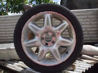 Rover 75 Alloy Wheels And low profileTyres