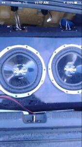 Sony Sub &alpine Amp