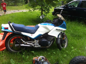 1983 GS550 Project