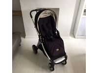 Mamas & Papas Armadillo Flip XT pushchair in Dark Navy Good Condition