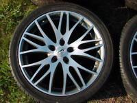 CMS f. BMW E60 8   9,5x19  guter Zustand + Kumho 245 285er ZS37 Bayern - Kirchlauter Vorschau