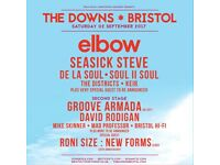 2 X PHYSICAL TICKETS FOR THE DOWNS FESTIVAL BRISTOL SEPTEMBER 2ND 2017