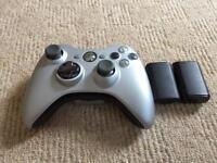 Xbox 360 Silver Controller