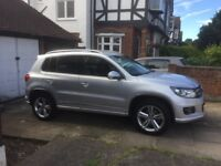 VW TIGUAN R Line TDi Bluetech 4M - 2014 Condition as New with warranty