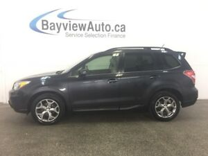2015 Subaru FORESTER - AWD! PANOROOF! LEATHER! NAV! BLUETOOTH!