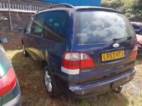 FORD GALAXY GHIA AUTOMATIC, (ANY OLD CAR PX WELCOME ) SMOOTH ENGINE AND GEARBOX, MOTORWAY MILES