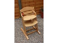 Baby Dan infant chair.