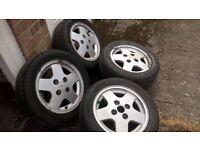 Ford alloy wheels XR RS Fiesta Escort Focus 185 55 14 set of 4