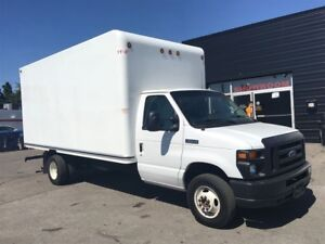 2016 Ford E-450 16ft cube with ramp. fin or lease from 4.99%oac
