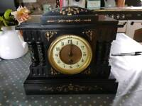 French Slate and Marble Clock