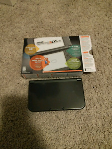 New Nintendo 3DS XL Black Mint