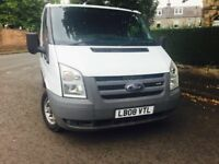 FORD TRANSIT 300 SHORT WHEEL BASE LOW ROOF 2.2 TDCI 85PS 2008 LOW MILEAGE GREAT CONDITION