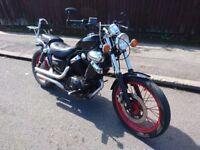 Yamaha 535 Virago - Restored bike - Black - LOOKS GOOD AS NEW